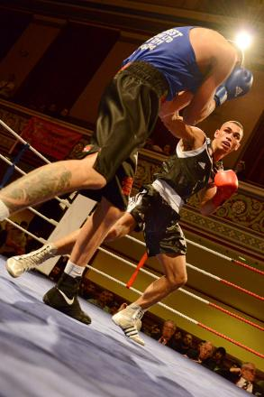 Ashley Vanzie found boxing two nights in a row, with little sleep in between, took its toll