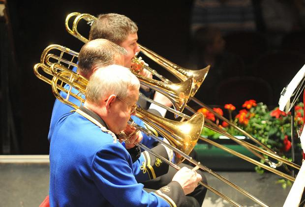 Clifton and Lightcliffe Band performing at St George's Hall this weekend