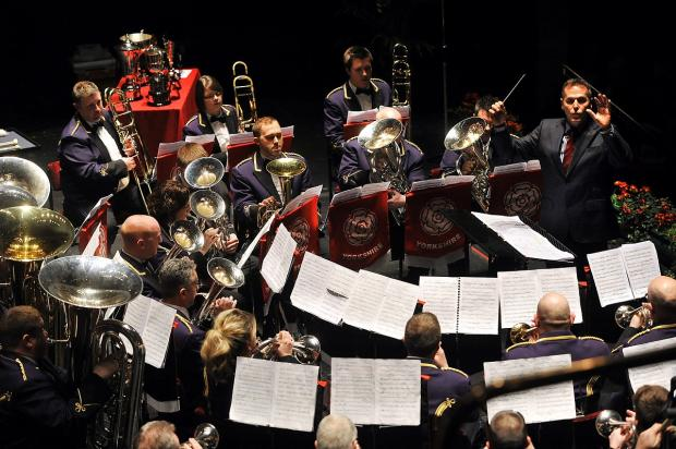Brighouse and Rastrick Brass Band teams up with singers for its Massed Band concert