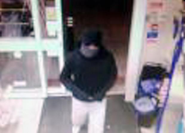 CCTV image released after knifepoint robbery at Bradford shop