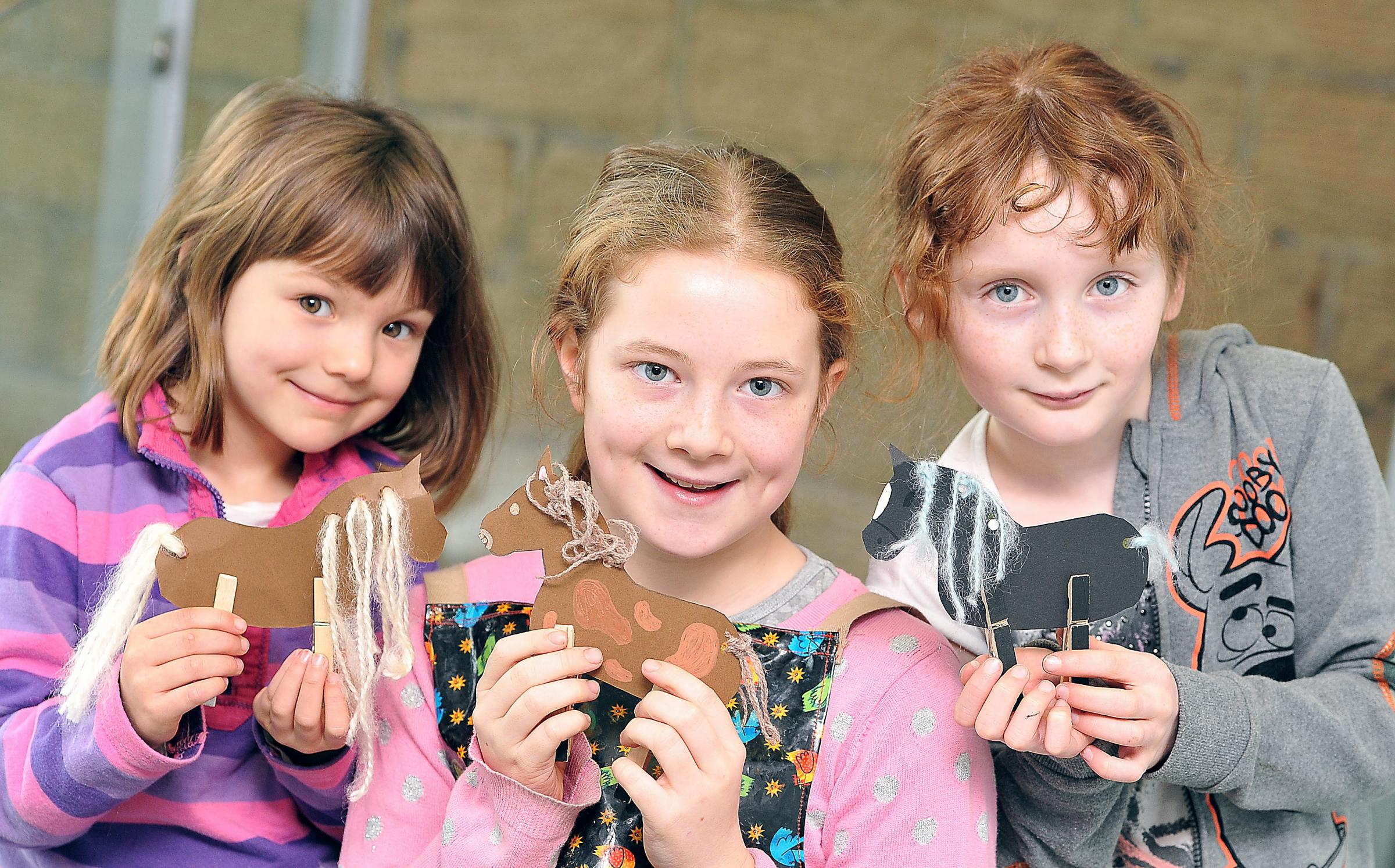 Youngsters enjoy Art Stars session at Otley Courthouse