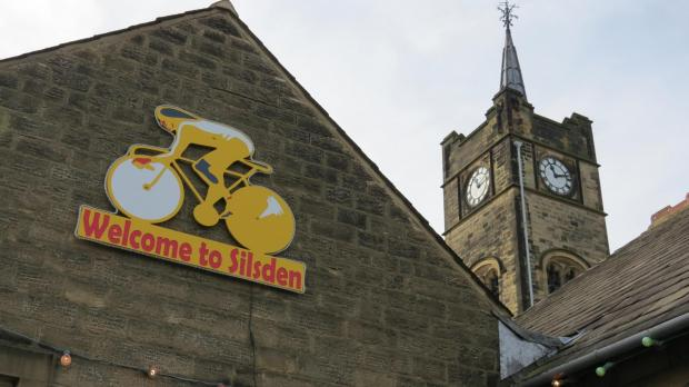 The 'Welcome to Silsden' sign