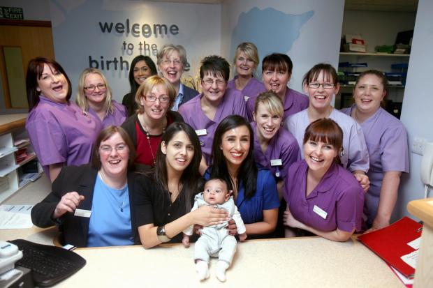 The Birth Centre team at BRI have been shortlisted for Team of the Year in the British Journal of Midwifery awards