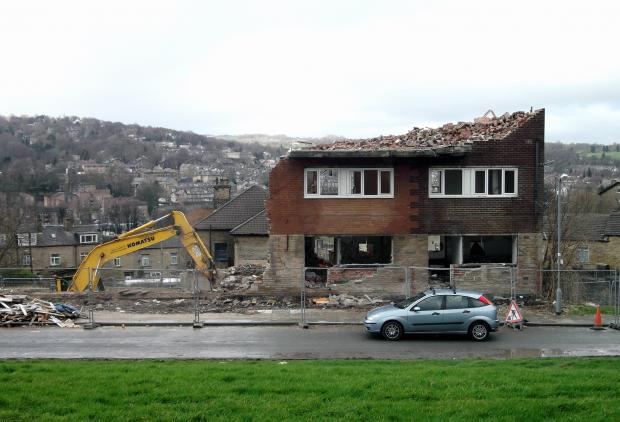 Bolton Woods demolition makes way for family housing scheme