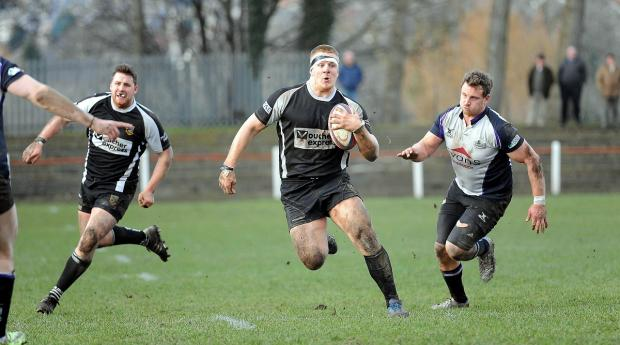 Otley prop Paul Hill is again warming the bench in Calvisano tomorrow night
