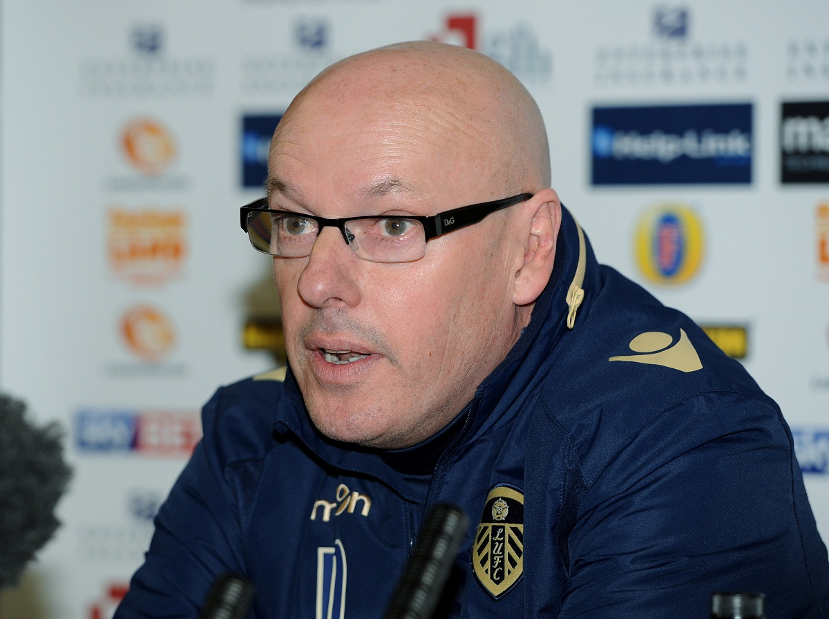 Leeds United manager Brian McDermott admitted his players were nervous