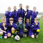 Bradford Telegraph and Argus: Bolton Lads and Girls Club Under-9s get into the spirit of junior football's Silent Weekend