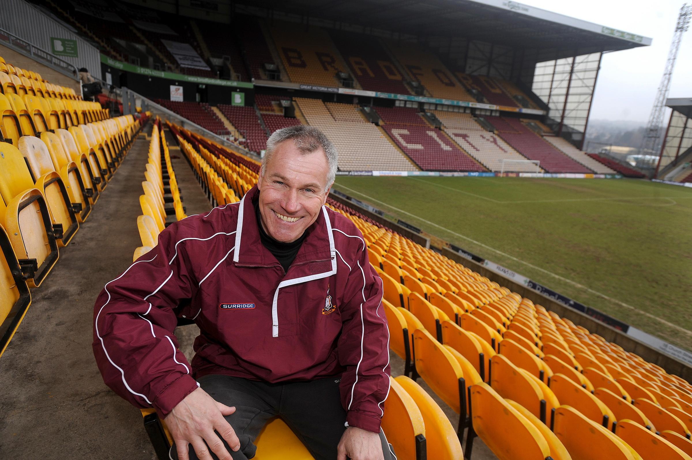 Peter Taylor interview: I don't mind if Bradford City fans shout at me today