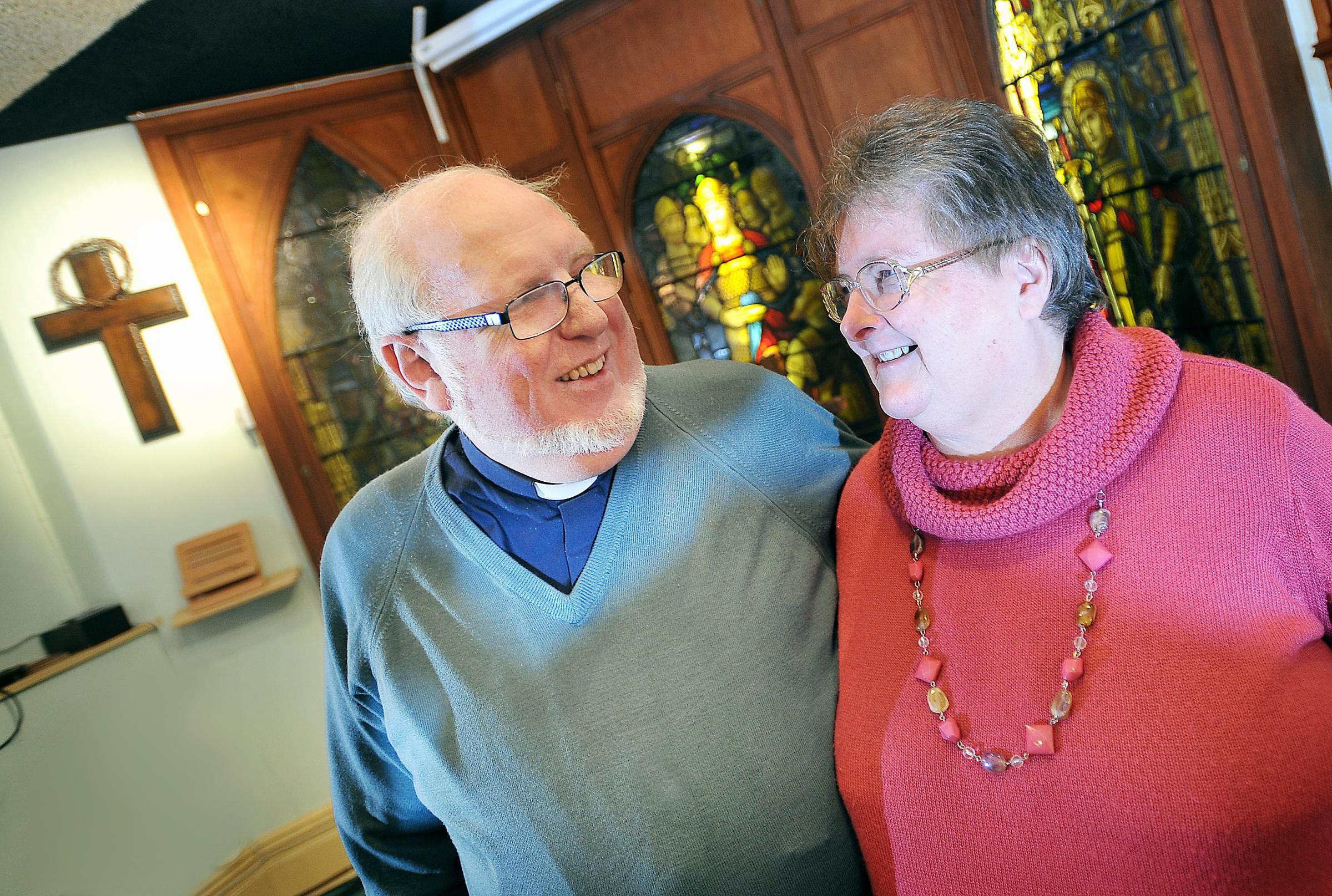 The Reverend Tony Newnham and wife Sue are retiring from their duties at Heaton Baptist Church and will not be replaced.
