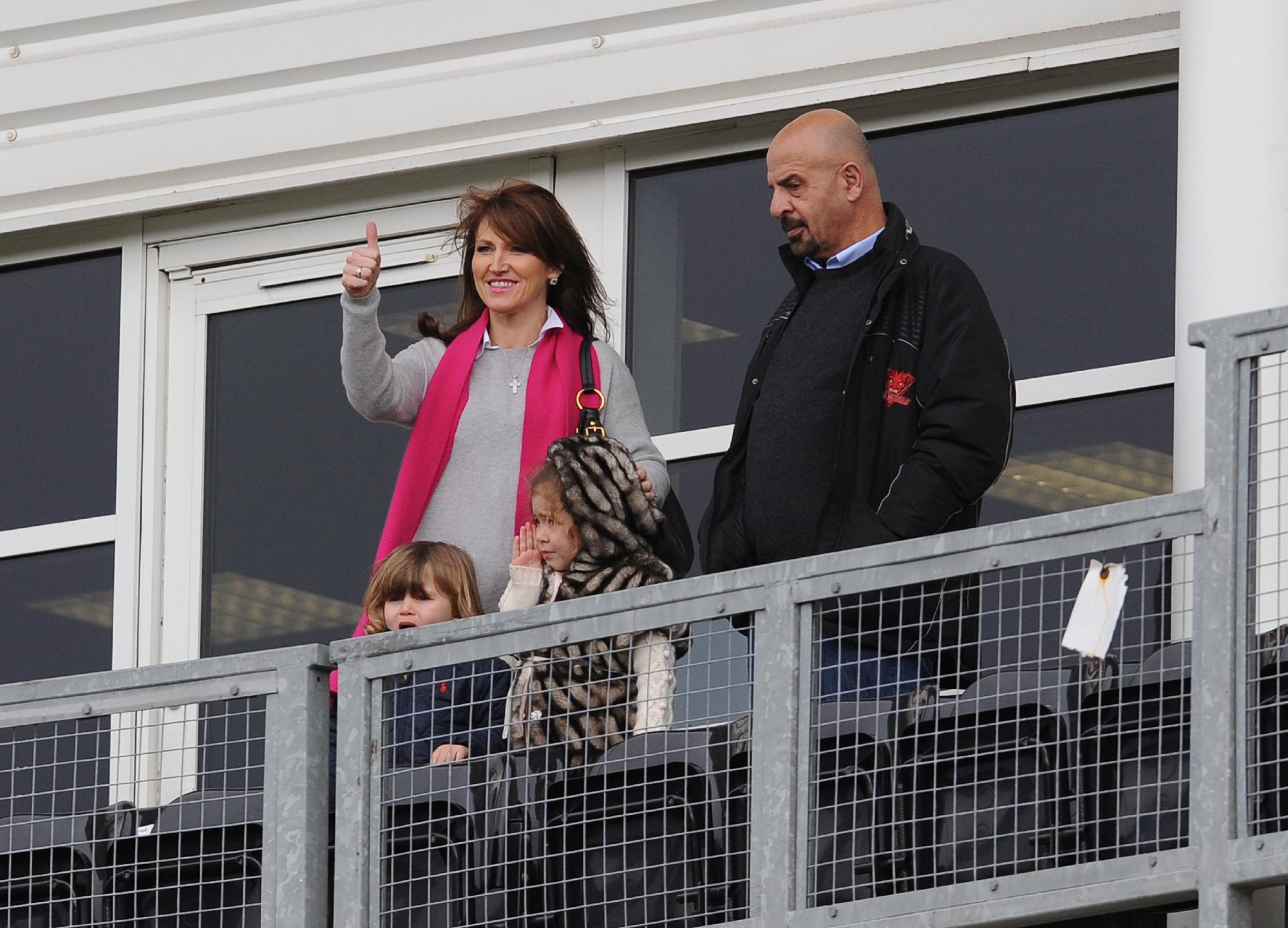 Mandy Koukash at Sunday's clash with Huddersfield