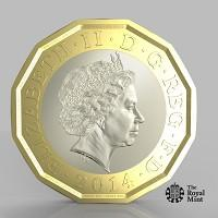 Bradford Telegraph and Argus: The new one pound coin announced by the Government will be the most secure coin in circulation in the world (HM Treasury/PA)