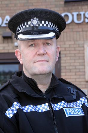 Bradford District Chief Superintendent Simon Atkin