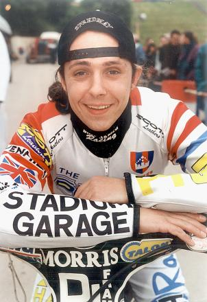 Speedway legend Gary Havelock