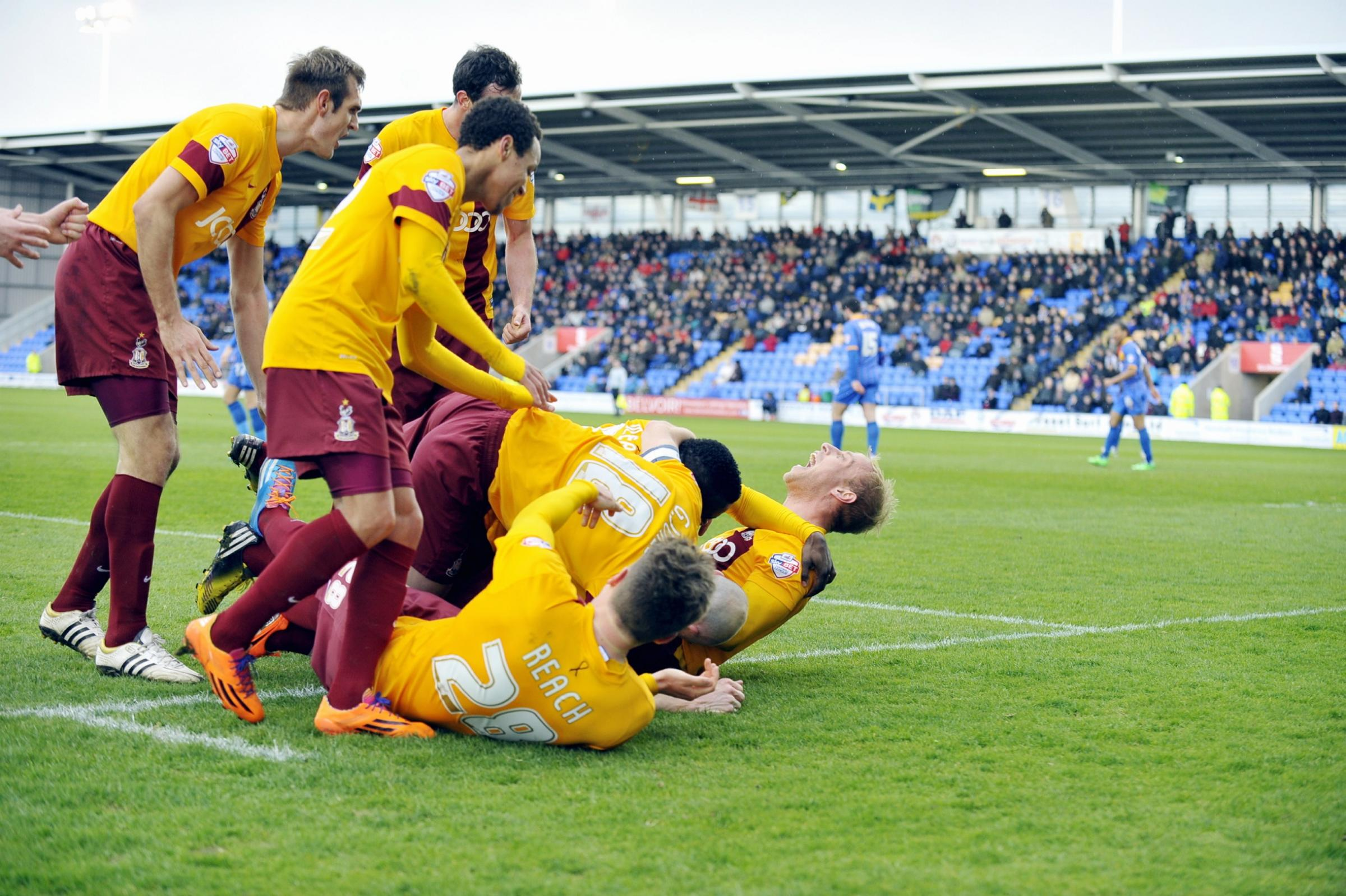 Bradford City lose banker – but what did you expect?