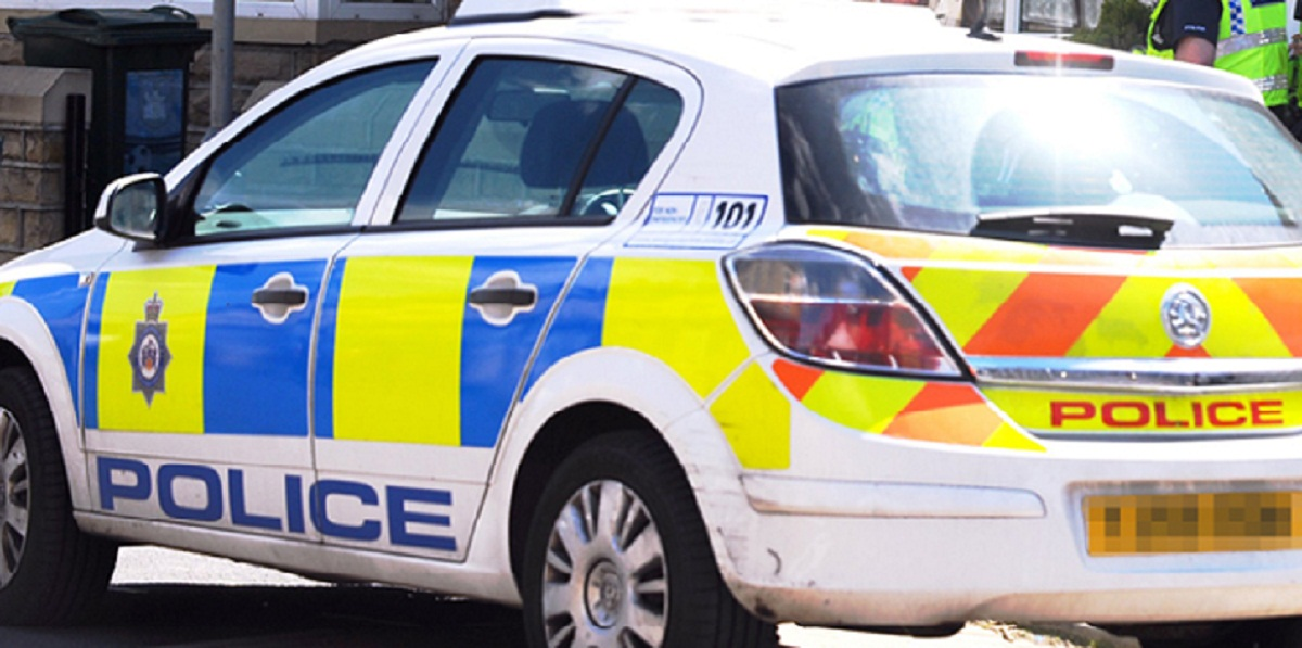 A police car worth £10,000 was stolen by thieves