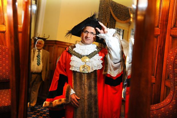 The Lord Mayor of Bradford, Councillor Khadim Hussain