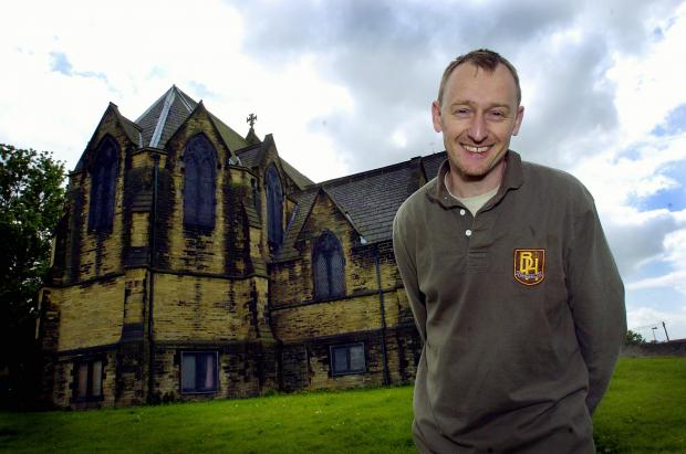 The Reverend Jimmy Hinton, vicar at St Stephen's Church in West Bowling