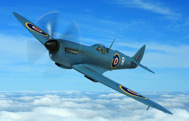A full-sized replica of a Spitfire will be shown at the Brighouse 1940s weekend