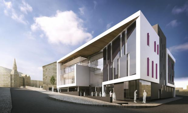 Bradford Telegraph and Argus: An artist's impression of the new building