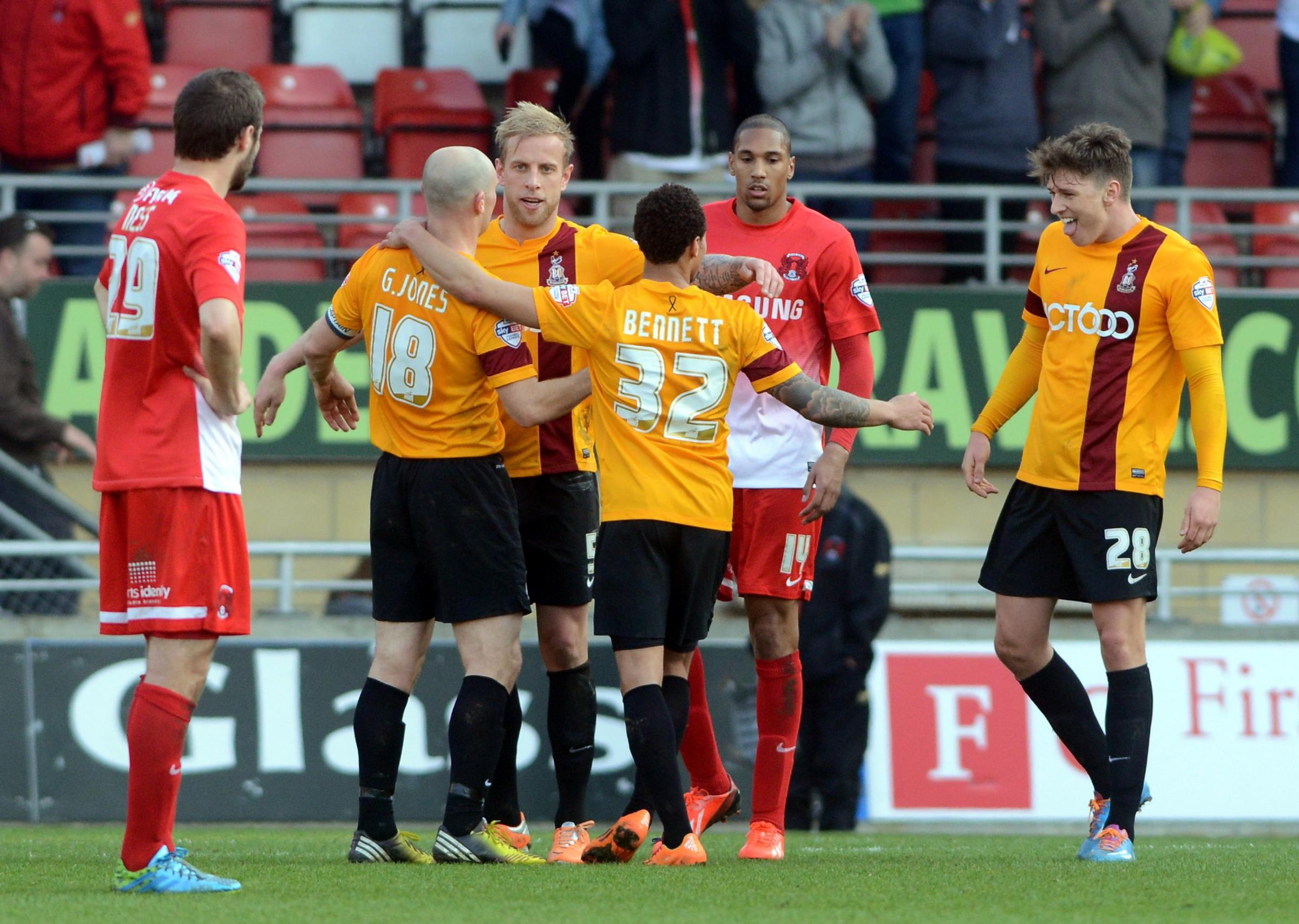 Bantams Aaron their way to safety after crucial win
