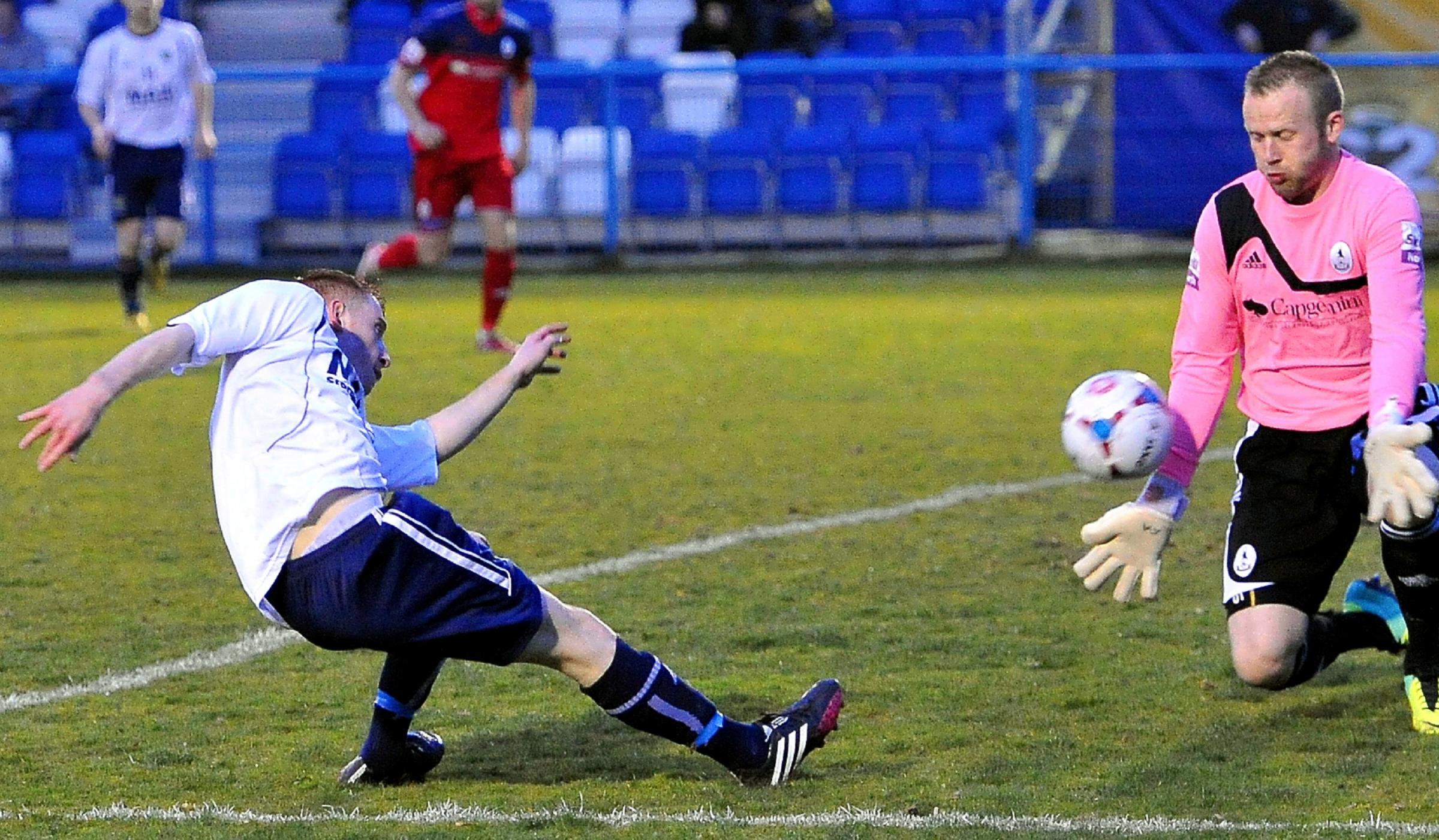 Telford trounced by Guiseley