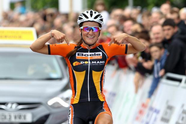 CONTRACT EXTENSION: Lizzie Armitstead has agreed terms to stay with Boels-Dolmans until the end of 2016