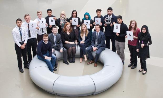 Tong High School's Micro-Tyco challenge team