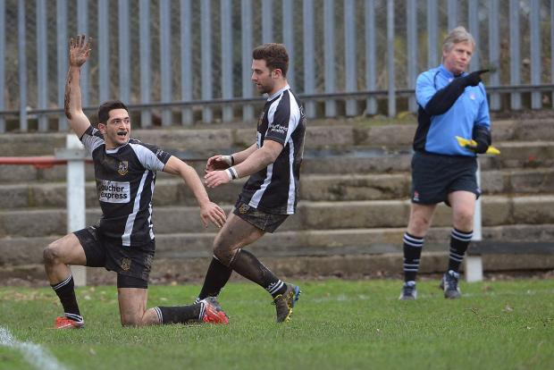 Nazir Karim scored two more tries for Otley