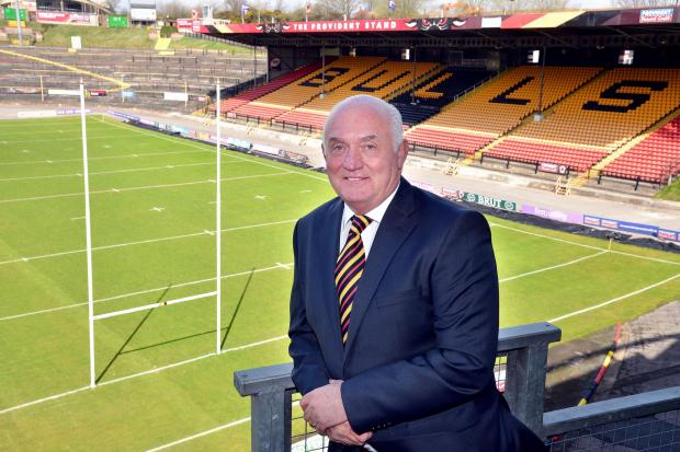 New Bulls commercial director Danny Potticary settles in at Odsal