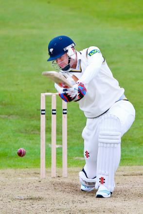 Jonny Bairstow resumed behind the stumps for Yorkshire after leaving the field