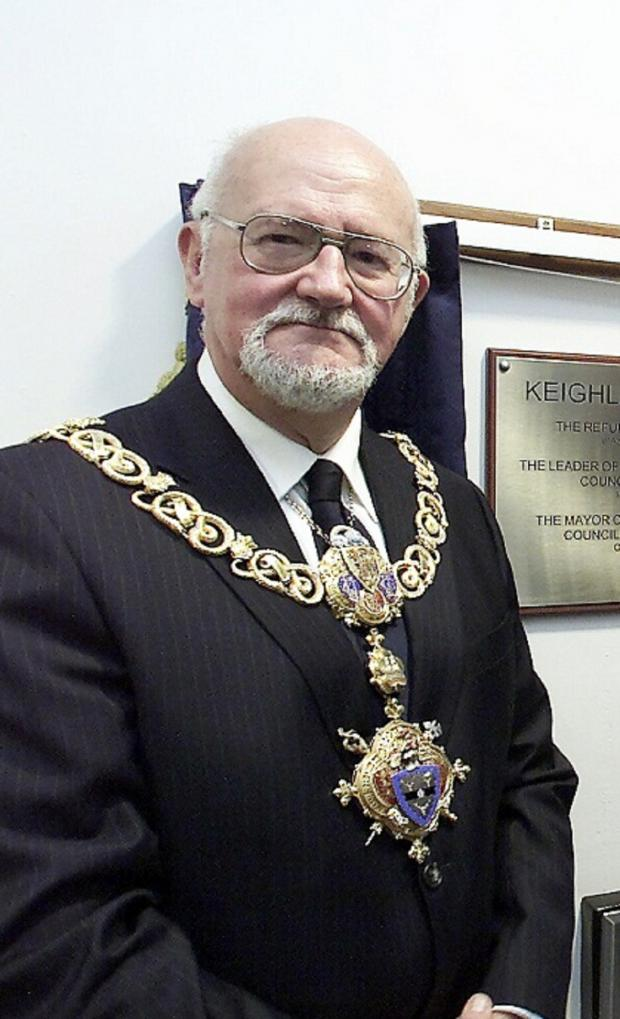 Bradford Telegraph and Argus: Keighley Mayor, Councillor Graham Mitchell