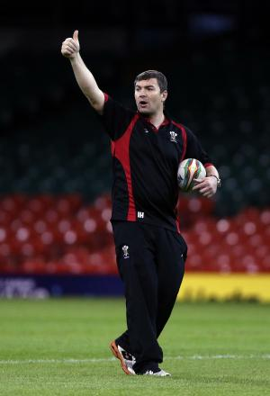 IN CHARGE: Former Bulls player Iestyn Harris has taken over in the hot seat at Salford Red Devils following the shock sacking of Brian Noble