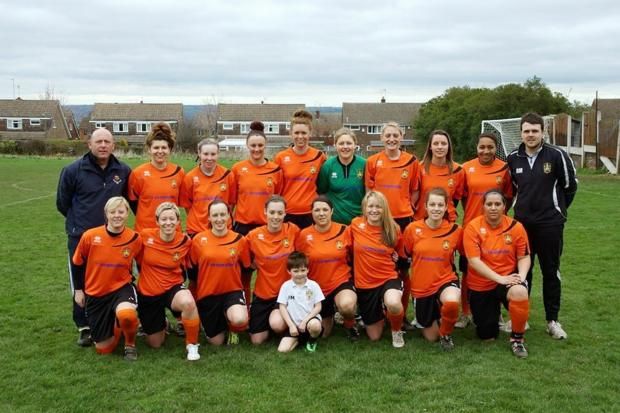 Brighouse Town Ladies, who have been unbeaten all season