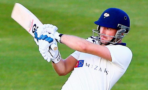 Adam Lyth top-scored with 85 for Yorkshire
