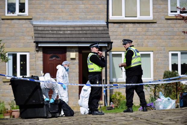 Police have started a murder investigation after a body was found at a house in Cherry Lea Court, Rawdon