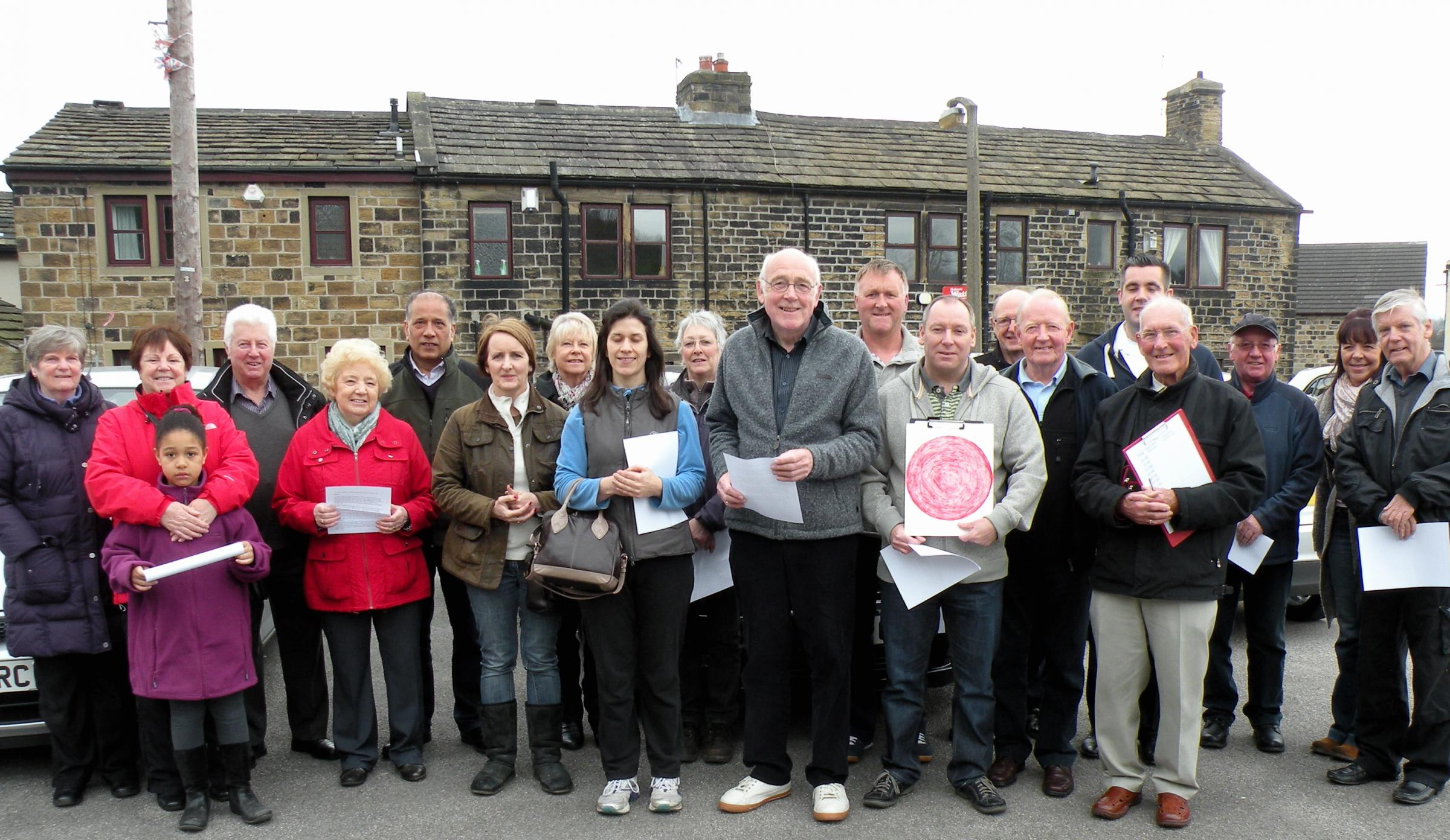 Thackley residents go on the road to put congestion case about new homes