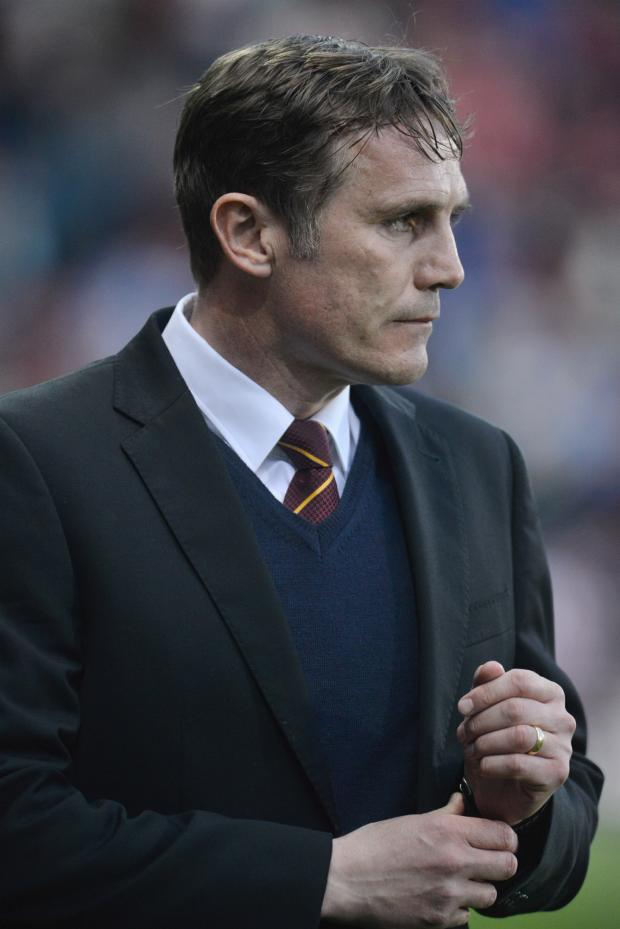 Bradford Telegraph and Argus: Phil Parkinson has a one-track mind: League One safety