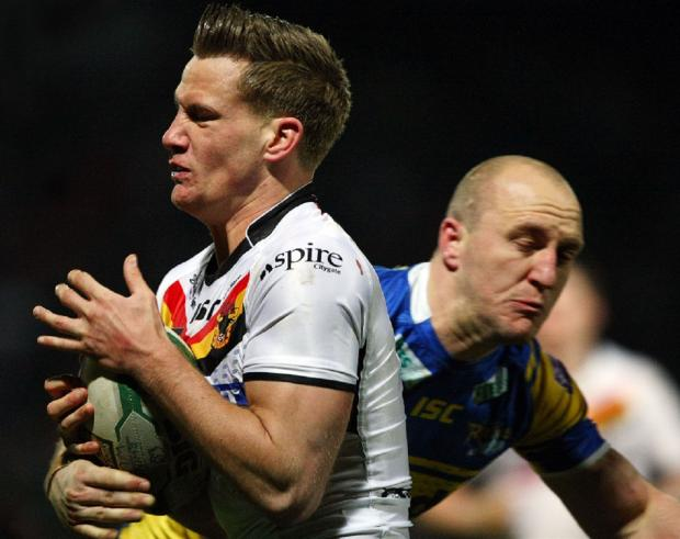 Ever the optimist, Jamie Foster – being tackled by Carl Ablett in last season's derby clash at Headingley – is billing tonight's match as a potential turning point of the season