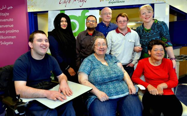 Members of the Bradford People First group