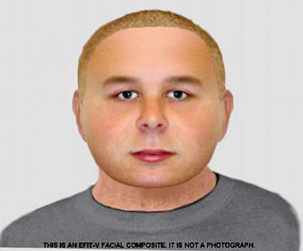 The e-fit image of a man wanted over a Rawdon burglary