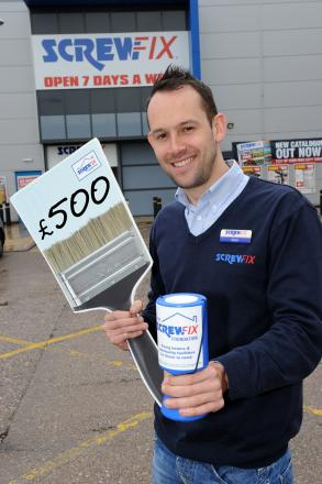 Matt Hunt, Screwfix store manager