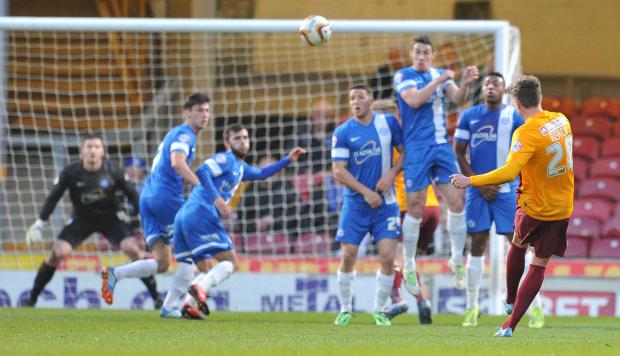 Adam Reach's third and best goal of his 18-match spell at City was the match-winning free-kick against Peterborough on Good Friday