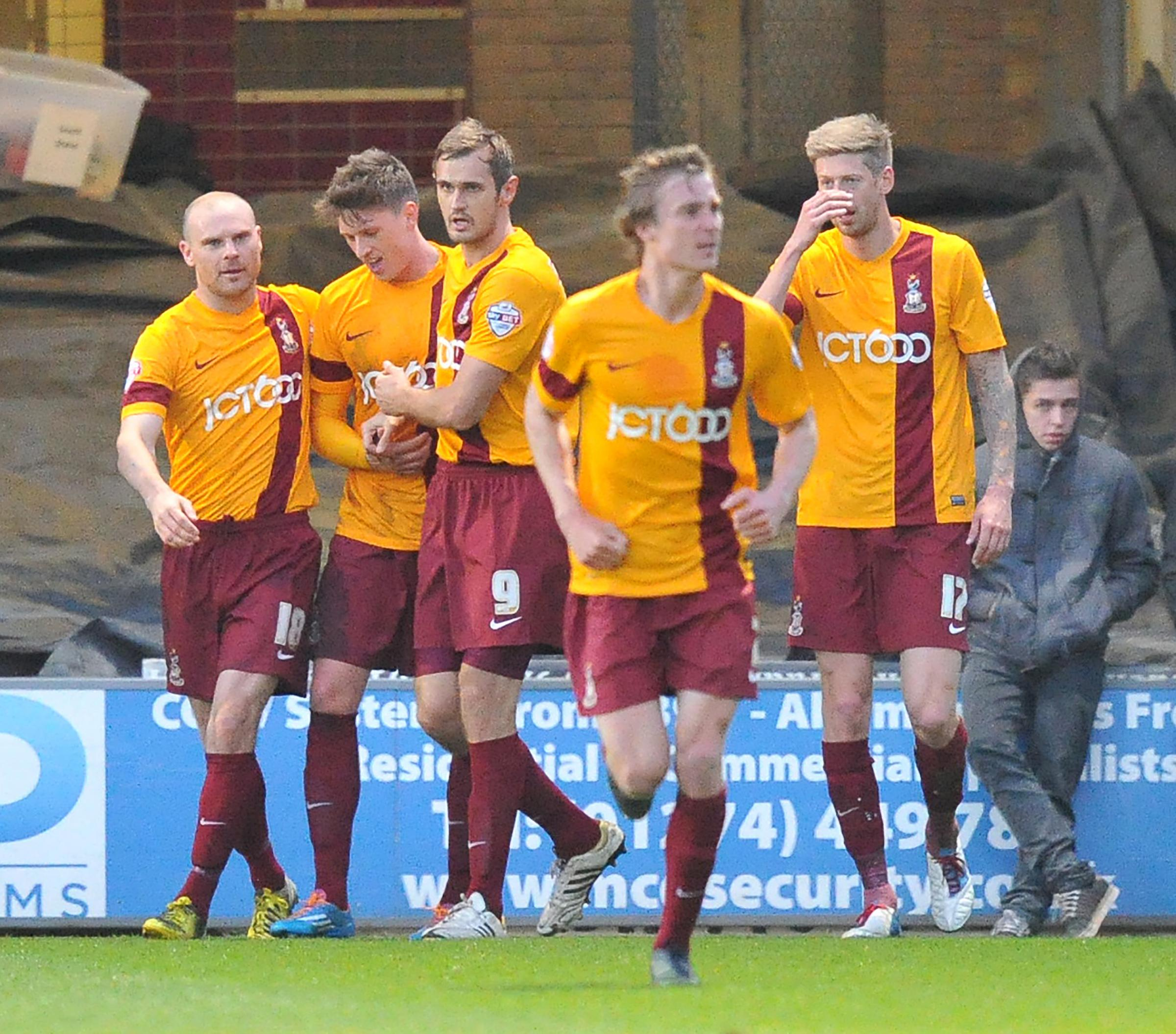 Bantams boss Parkinson can sleep easy after win