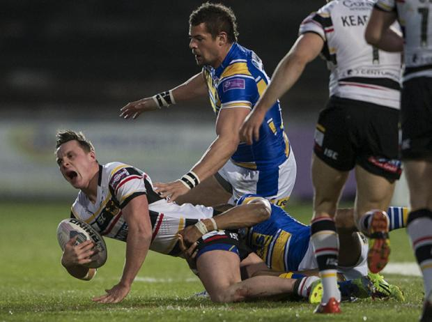 James Donaldson injured his ankle against Leeds Rhinos and misses out today