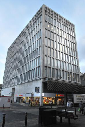 SITE: Arndale House where charities are now based