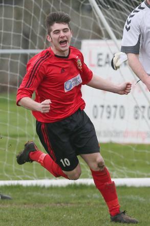 Zack Dale's brace helped Silsden to a 3-1 derby victory over Barnoldswick Town