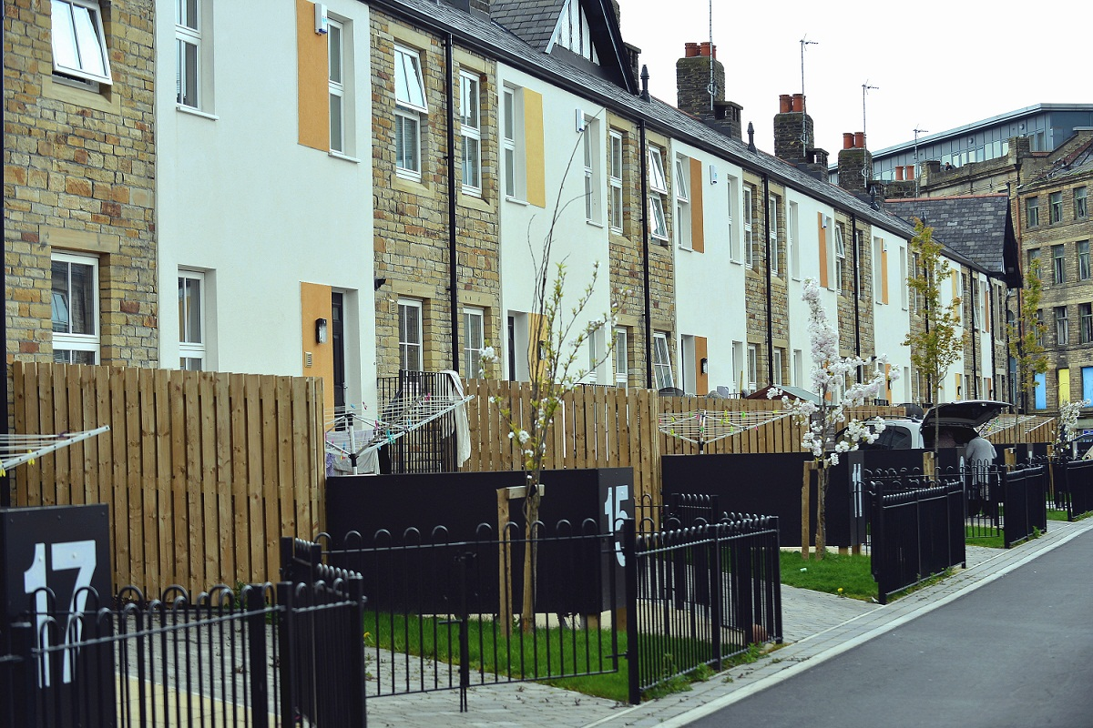 The houses in Chain Street are now great homes after being condemned as 'death row' when they were in a dilapidated state