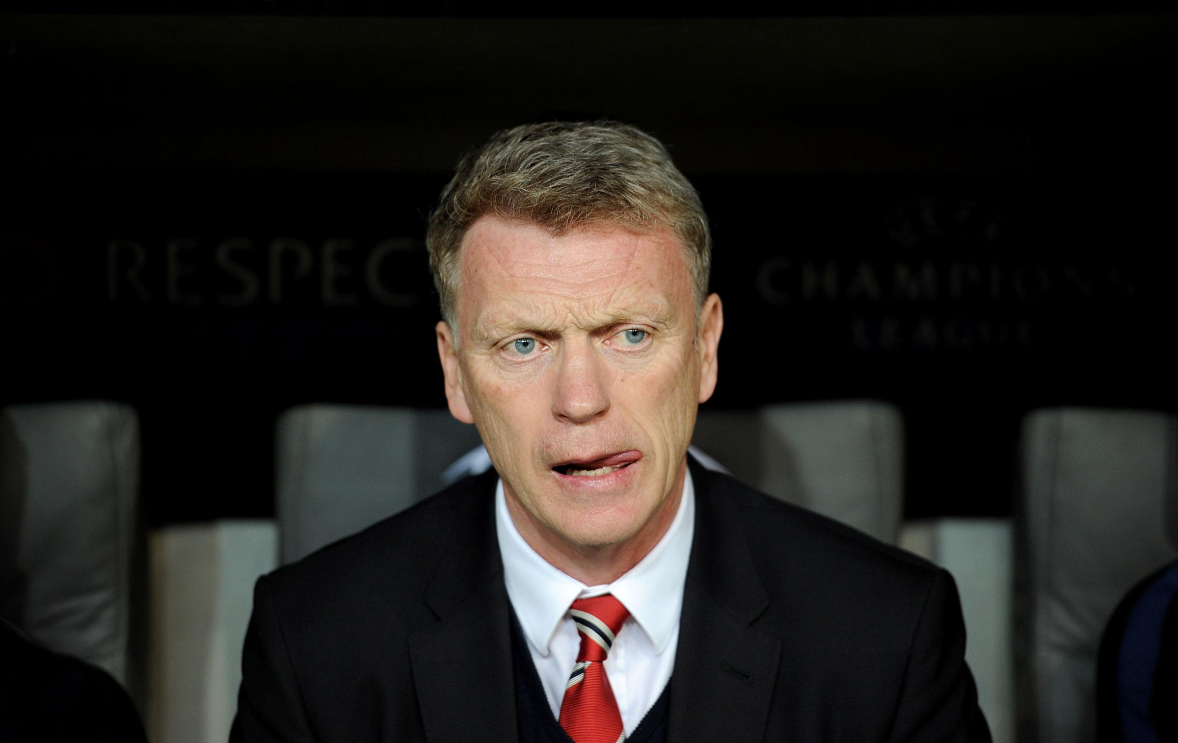 DAVID MOYES: Did not appear to be respected by United players