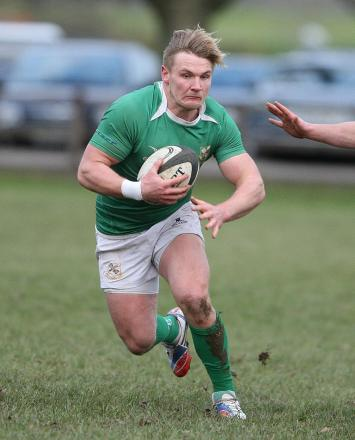 Tom Davidson was Wharfedale's man of the match at Worthing