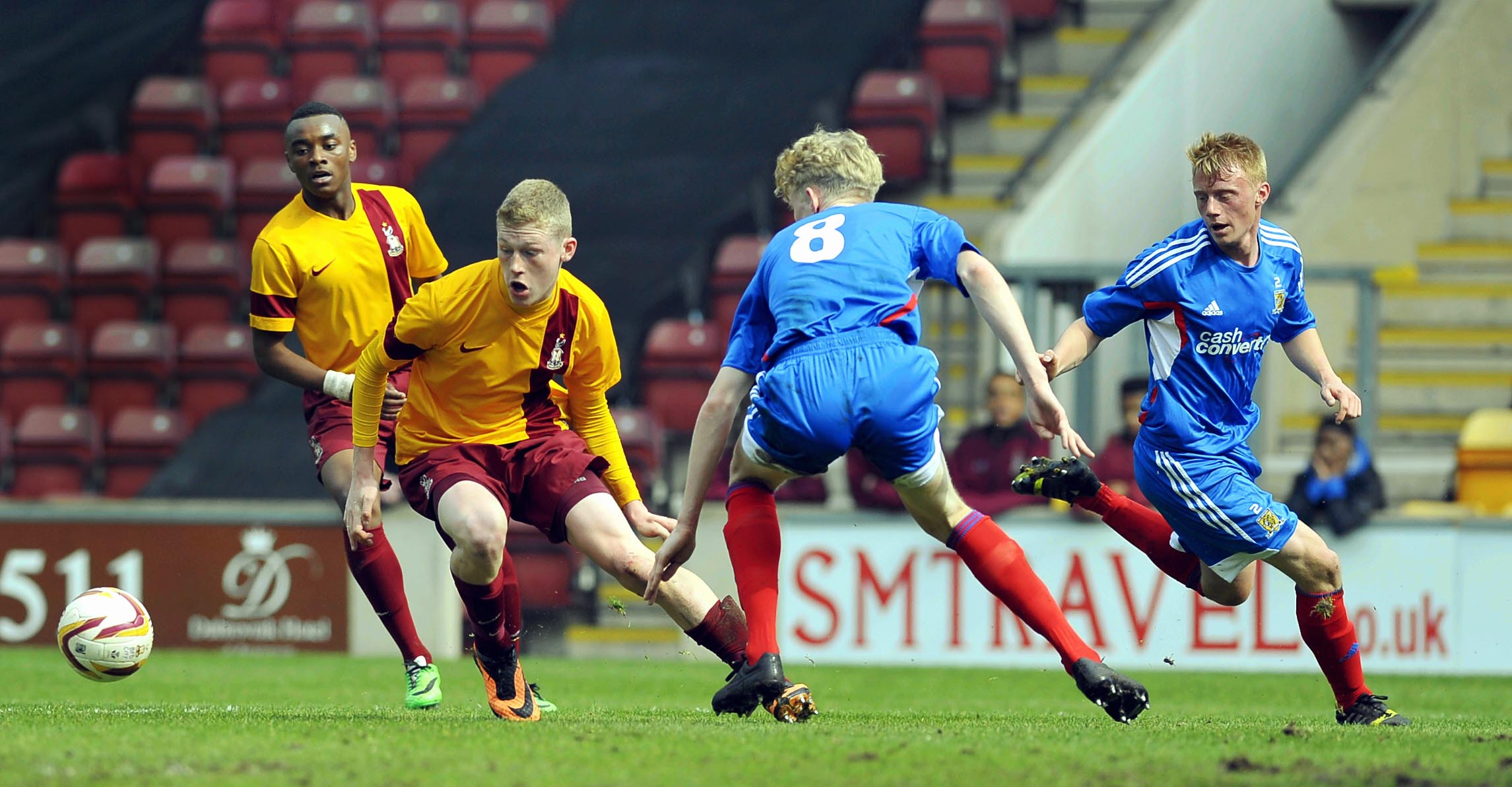 Bradford City youth team: player profiles
